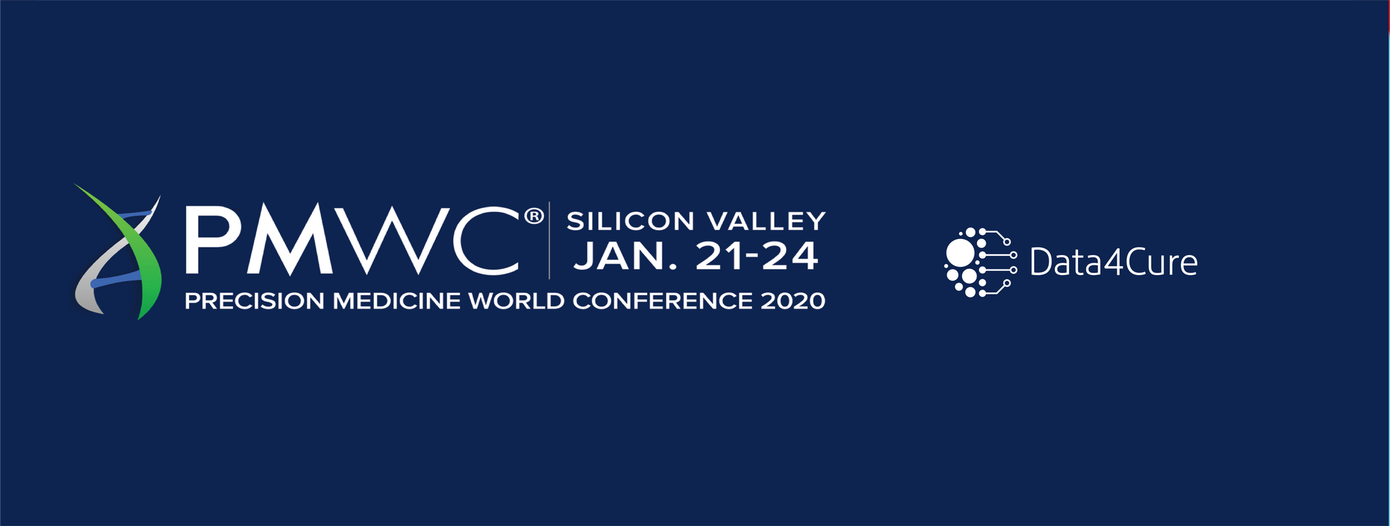 Join us at the 2020 Precision Medicine World Conference (PMWC)