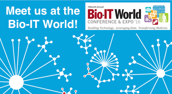 Data4Cure at the 2016 Bio-IT World Conference & Expo
